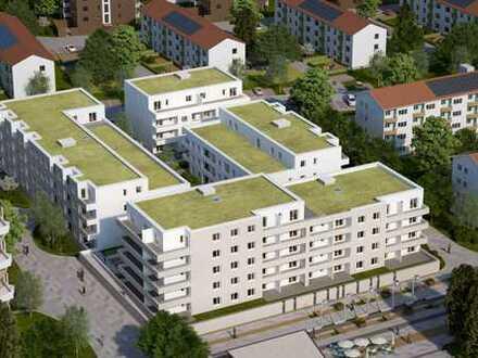 3 Zi. Erdgeschosswohnung mit Einbauküche, Loggia Neubau - Erstbezug