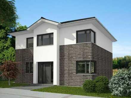 Moderne freistehende Stadtvilla, massiv gebaut! Individuell planbar!