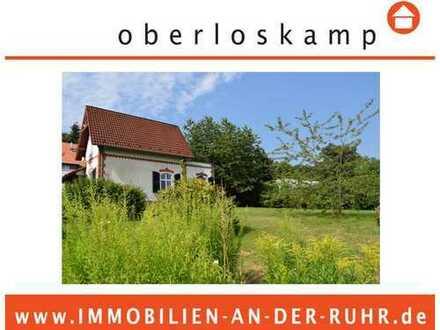Großes Grundstück zur Entwicklung mit Altbestand - in Halbhöhenlage von Godenberg