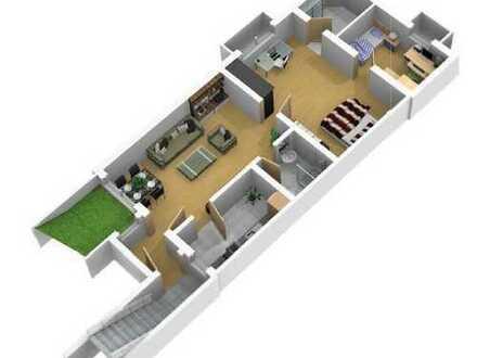 3-Zimmer-Einliegerwohnung mit Einbauküche+Stellplatz in Mehlingen