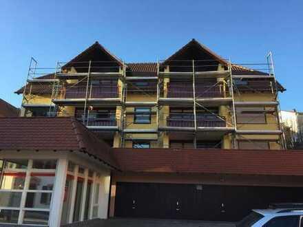 Gepflegte 3-Zimmer-Wohnung mit Süd-Balkon in Öschelbronn (Ortsmitte)