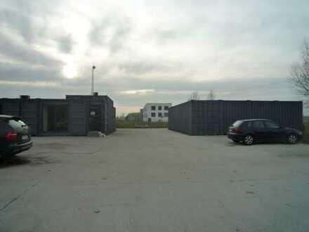 Interessantes Grundstück mit Bürocontaineranlage