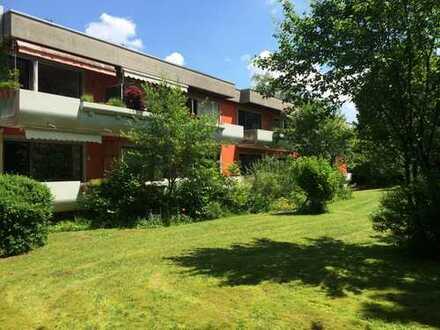 1-Zimmer-Hochparterre-Wohnung mit Süd-Balkon, ruhig und grün, München-Solln