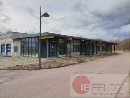 Bezugsfreies Autohaus mit Werkstatt, Büro und großzügigen Freiflächen