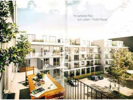 Hochwertige 3-Zimmer-Neubauwohnung mit sonnigem Balkon