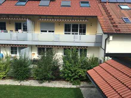 Neuwertige 3-Raum-EG-Wohnung mit Terrasse in Stoettwang