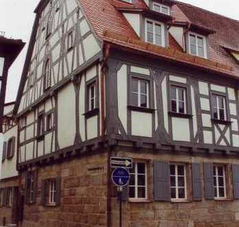 Das besondere, historische Stadthaus in der Forchheimer Altstadt mit Dachterrasse. Provisionsfrei.