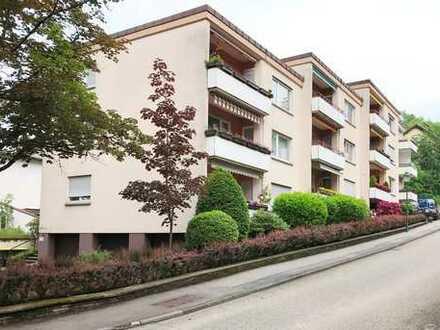 der attraktive Einstieg zum Wohnen in Baden-Baden: Eigentumswohnung mit Balkon in ruhiger Grünlage