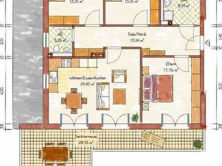 Neubau-4-Zimmer-Dachgeschosswohnung in Schriesheim
