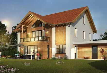 Villa Neubau für besondere Ansprüche in Massivholzbauweise