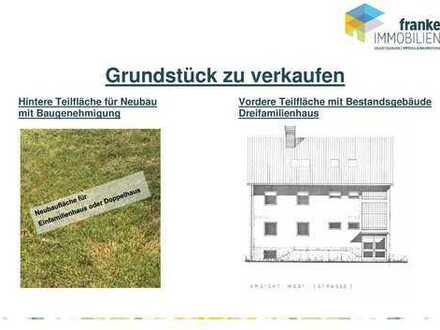 GRUNDSTÜCK mit Bestand und Neubaufläche