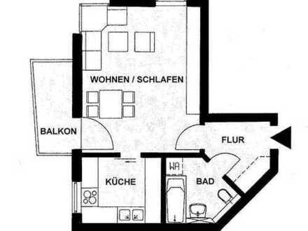 (WE 5/2) Sonnige 1-RW mit Balkon-die ideale Single-Wohnung
