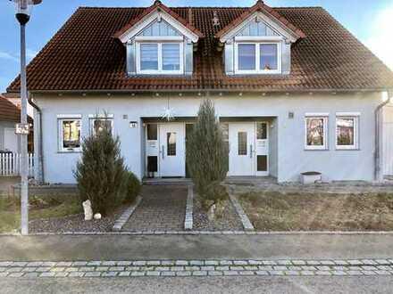 Gepflegte Doppelhaushälfte mit fünf Zimmern in Kreßberg, Schwäbisch Hall (Kreis)