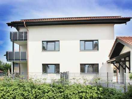 Gartenwohnung, ERSTBEZUG 136 m2, 4-Zimmer auf 2 Ebenen in Halfing