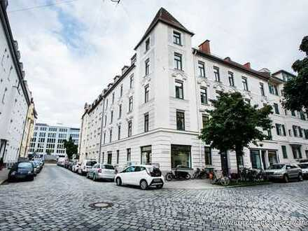 !Rarität! Extravagante und renovierte Altbau-Wohnung in guter Lage!  Neuhausen/Nähe Rotkreuzplatz!