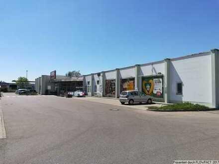 Vielseitig nutzbare Ladenflächen in Burgau/Gewerbegebiet zu vermieten