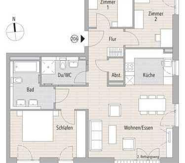 Moderne Eigentumswohnung inkl. Balkon
