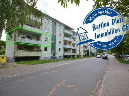 DIETZ: 3-Zimmer-Wohnung mit großer Loggia in Groß-Umstadt Adenauerring