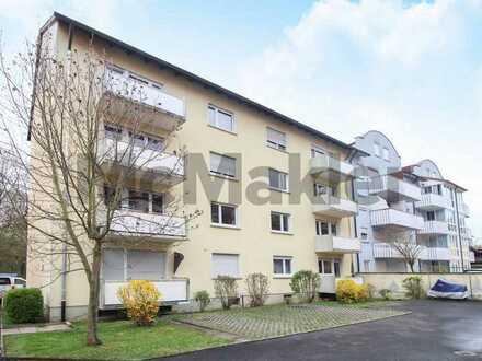 Schön geschnittene 3-Zimmer-Wohnung mit Balkon in innenstadtnaher Lage