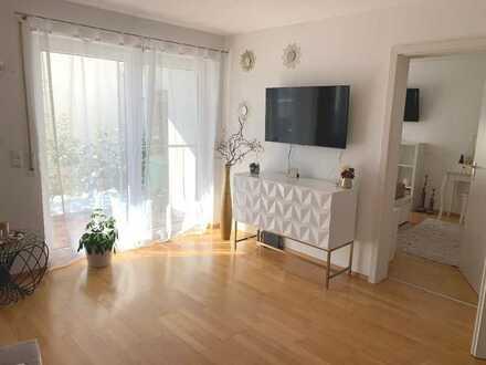 Helle 2-Zimmer-Wohnung mit Garten und neuer EBK ohne Makler