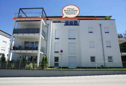 + neue Penthouse-Wohnung mit großer Dachterrasse +