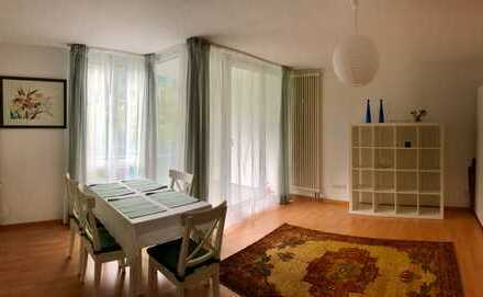 Wunderschöne 1-Zimmer-Wohnung mit Balkon und Einbauküche, 3 - 6 Monate befristet, Sendling, München