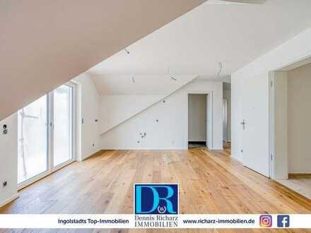 Neubau! Stylische 5-Zimmer-Dachgeschosswohung mit Blick ins Grüne inkl. EBK!