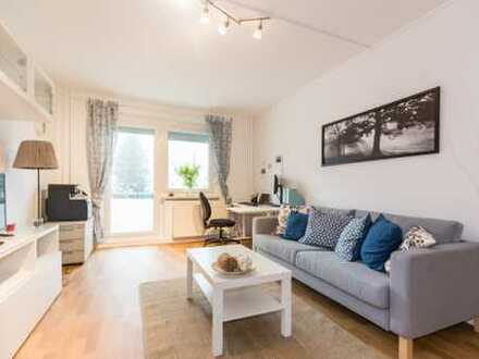 Nur für begrenzte Zeit – Gutscheinaktion* 3-Raum-Wohnung mit Balkon und Blick ins Grüne!