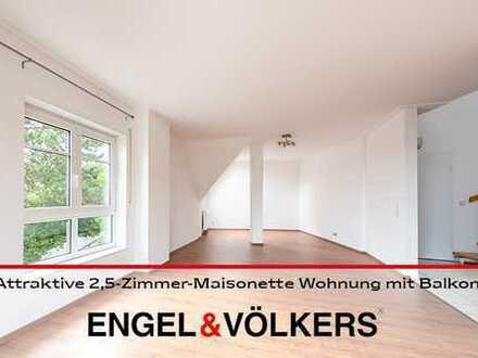 Traumhafte Aussicht: Attraktive 2,5-Zimmer-Maisonette Wohnung mit Balkon in begehrter Lage von Bad D