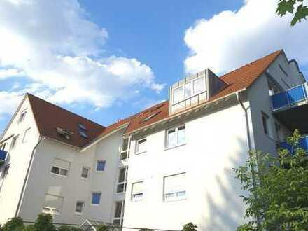 Maisonette-Wohnung mit Balkon & TG-Stellplatz in F-Nied!
