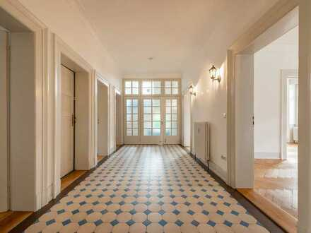 Historische 5-Zimmer-Wohnung in Jugendstilvilla sucht junge Familie oder WG!