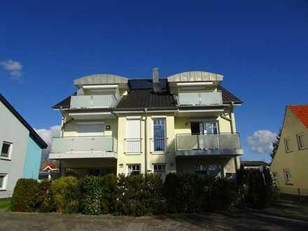 Modernisierte 2 Zimmer-Wohnung mit Meerblick vom Balkon in Grömitz