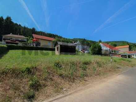Großes Grundstück in schönem Wohngebiet mit Waldrandnähe im Erholungsort Simmertal
