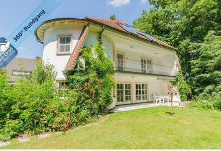 Architektenvilla mit uneinsehbarem Garten in ruhiger Lage in Stein bei Nürnberg