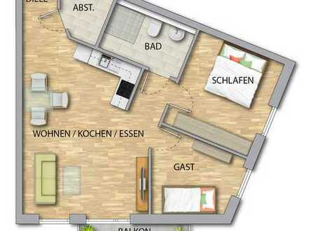 Seniorenwohnung 55+ im exklusiven Neubau in zentraler Lage, Rheinböllen