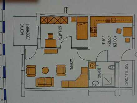 Seniorendomizil Schramberg-Sulgen: 2 Zimmer, Küche, Bad, Terrasse