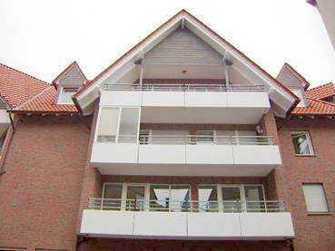 Gepflegte 3-Zimmer-Wohnung mit Balkon und EBK in Lübbecke