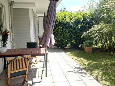 München Bogenhausen / St. Emmeram - helle 2 Zimmer Wohnung mit Garten