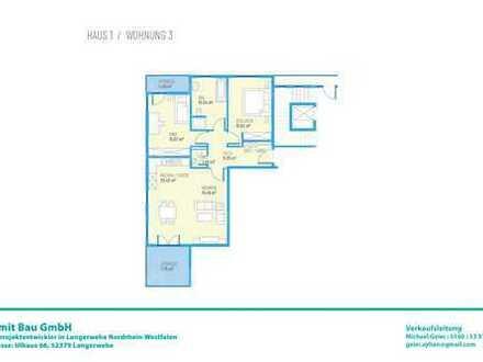 Drei Zimmer EG-Wohnung H1W3
