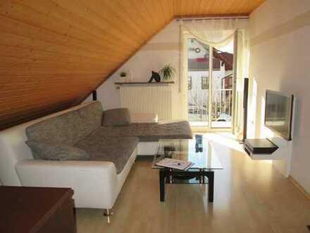 2- Zimmerwohnung in Hettenshausen *2 Balkone* (Süd- und Westseite)