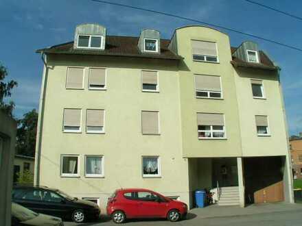 Werdau-Süd, 1-Zi.-Whg, mit Terrasse und offener Küche