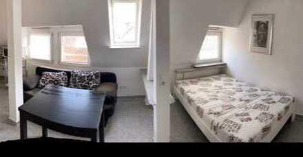 1 Zimm möblierte Wohnung, EBK, Stuttgart-West