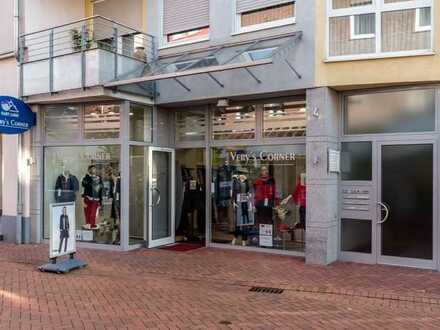 Willkommen in der Gewinnzone! 1A-Ladenlokal in der Fußgängerzone - fest vermietet.
