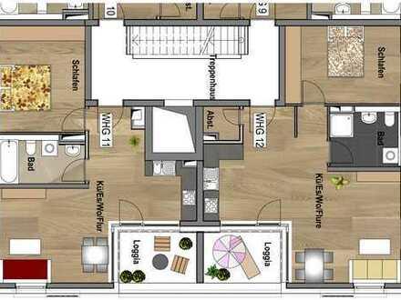 2.Obergeschoss - Wohnung 12