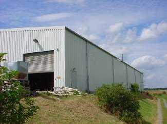 Lagerhalle in Logistikzentrum   Sachsen