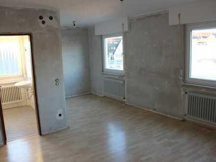 modernisierte 1-Zimmer-Appartment in Friolzheim