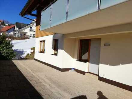 Sonnige Einliegerwohnung 2-Zimmern-EG mit Terrasse in Schonach