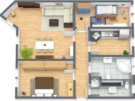 Exklusive Balkon-Wohnung 88qm 2 Bäder Eckbadewanne/Dusche in Oberhof TOP