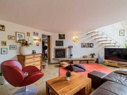 Traumhafte Maisonettewohnung mit  Terrasse, Kamin und Sauna in Konradshöhe