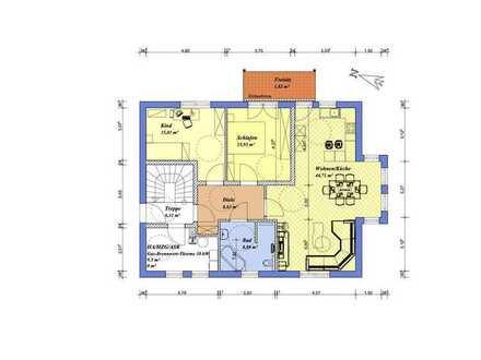 Neubau ab 04/21, durchdachter Grundriss, zentral, Stadthaus mit 3 Wohnungen- nur noch 1 Whg. frei